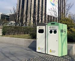seoul intelligent trash collection